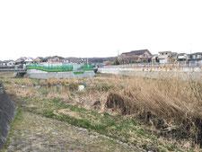 奈良橋川 合流点