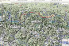 4. Etappe  Bagneres de Luchon - Biert ( 118 km, 2764 Hm)