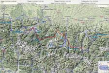 3. Etappe  Aucun - Bagneres de Luchon (126 km, 3396 Hm)
