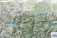 2. Etappe  Montory - Aucun (105 km, 2896 Hm)