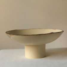 Hohe Schale von Malga Keramik