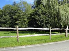 Pose de clôtures - Entreprise de parcs et jardins Laurent Toussaint - Virton - Saint-Mard
