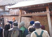 「三方良し」の井戸にて大間々の歴史を学ぶ