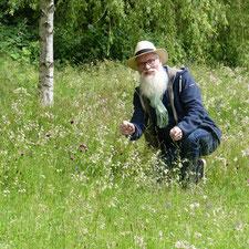 Wiesenbotanik John Langley
