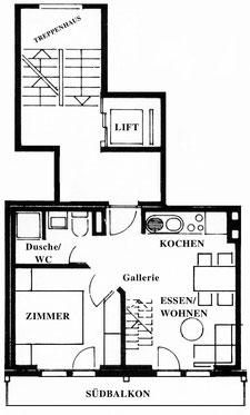 Plattegrond appartement 7