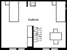 План галереи в апартаментах № 7