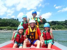 2020年8月15日AM信濃川ラフティングツアー写真