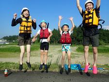 2020年8月20日PM信濃川ラフティングツアー写真