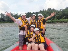 2020年8月16日AM信濃川ラフティングツアー写真