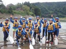 2020年9月13日PM信濃川ジオラフティングツアー写真