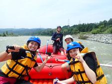 2020年8月5日AM信濃川ラフティングツアー写真