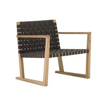 Andreu World-SERENA TEAK loungechair