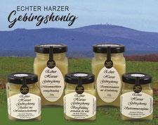 Echter Harzer Gebirgshonig, Honig aus dem Harz
