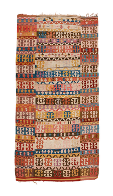 "Teppich. Zürich. Antique ""Enikli"" Kilim from Konya, wool. Handgewebter Teppich, Antik Konya Kelim. Laden in Zürich, kilim antique, Suisse"