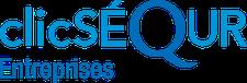 Logo clicSÉQUR Entreprises de Revenu Québec