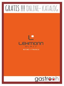 Katalog Lehmann Glas