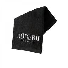 Noberu of sweden gesichtshandtuch schwarz 30x30cm