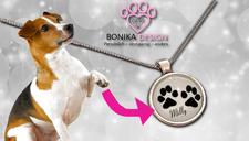Bonika Pfotenabdruck-Schmuck