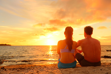 Glück und Erfolg, Paar am Abende am Strand, Albicker Coaching, coach-4you