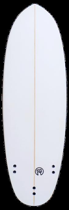 Unteransicht Pille Surfbrett