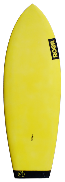 Oberseite Flatheck Surfbrett