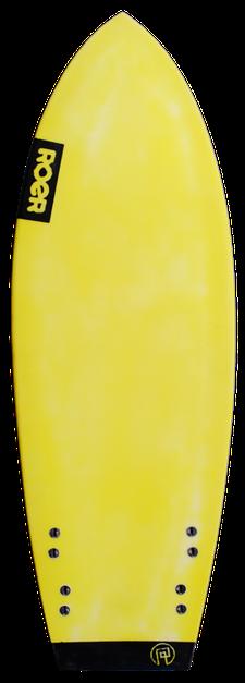 Unterseite Flatheck Surfbrett