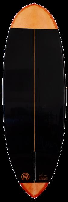 Unterseite Pintail Surfbrett