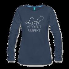 Blaues Shirt Liebe Respekt Schwul Lesbisch