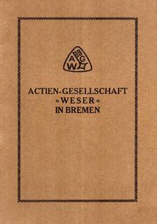 Info-Heft der Act.-Gesellschaft Weser