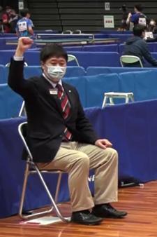 2021年全日本選手権大会審判ジェスチャー1