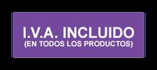 iva incluido en todos nuestros productos y colchones