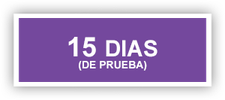 garantía de satisfacción con 15 días de devolución