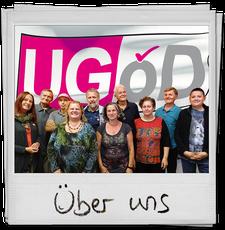 Polaroidbild zeigt UGÖD-Gruppenbild
