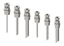 Liquid sampling - Needle purge liquid sampler needles - Liquid Sampler Needle purge configuration - Mechatest Bottle Sampler MBS