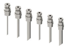 Liquid sampling - Back purge liquid sampler needles - Liquid Sampler Back purge configuration - Mechatest Bottle Sampler MBS