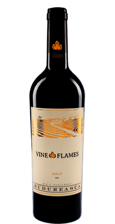Budureasca The Vine in Flames Merlot 2015