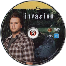 Invasion Cover DVD Disc 5