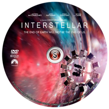 Interstellar Cover DVD