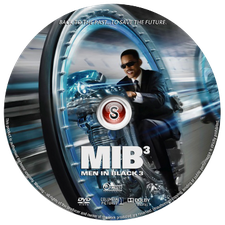 Men in black 3 Cover DVD