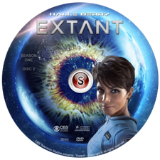 Extant Cover DVD 2