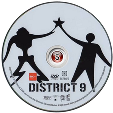 District 9 Cover DVD