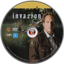 Invasion Cover DVD Disc 1