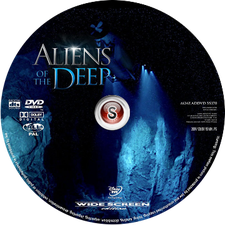 Aliens of the deep Cover DVD