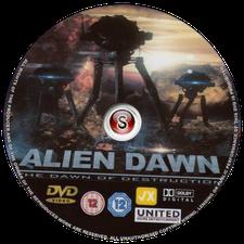 Alien dawn Cover DVD
