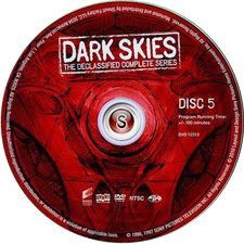 Dark Skies Cover Dvd CD 5