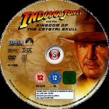 Indiana Jones e il regno del teschio di cristallo - Indiana Jones and the Kingdom of the Crystal Skull Cover DVD
