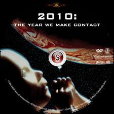 2010 L'anno del contatto Cover DVD