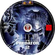 Aliens Vs Predator 2 Cover DVD