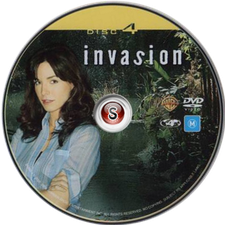 Invasion Cover DVD Disc 4