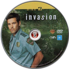 Invasion Cover DVD Disc 2
